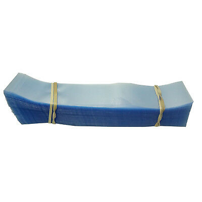 190x28 Heat Shrink Neck Wrap Band Cut for Canisters, Deli Tubs [Bundle of 250]