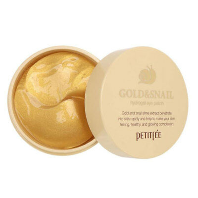 [PETITFEE] Gold & Snail Hydro Gel Eye Patch (60 Sheet) Rinishop