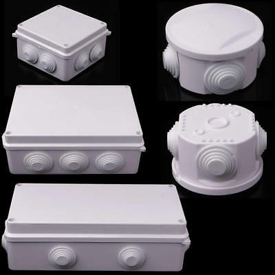 IP55/IP65 Plastic Waterproof Enclosure Case Power Junction Round Box