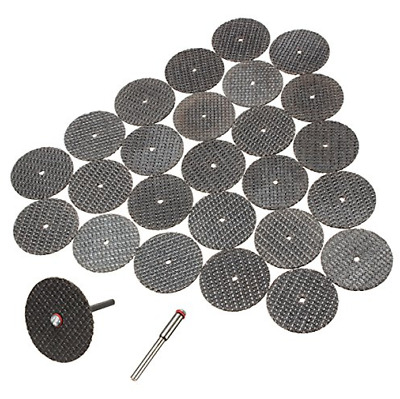 10 psc Blades Abrasive cutting disc set 32mm with arbor For rotary tool  Dremel