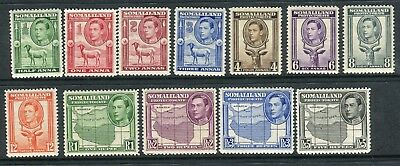 SOMALILAND PROTECTURATE-1938 An unmounted mint set of 12 values Sg 93-104