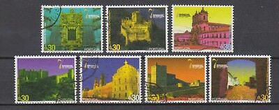 Portugal- 2007 - 7 Wonders Of Portugal - 7 Mini Sheet Stamps - B (2 Scans)