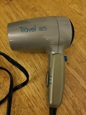 Cvs Travel 1875 Hair Dryer With Folding Handle.