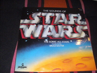 the sound of Star Wars The Sonic All-Stars Pickwick Records England 1977