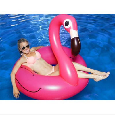 Summer Inflatable Flamingo Swimming Pool Float Giant Mat for Beach Water Party