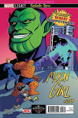 MOON GIRL & DEVIL DINOSAUR #28 1st OMNIPOTENTIS MARVEL COMIC BOOK NEW 1 SOLD OUT