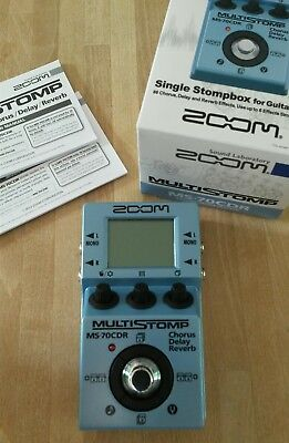 Zoom MS-70 CDR Multieffekt Pedal