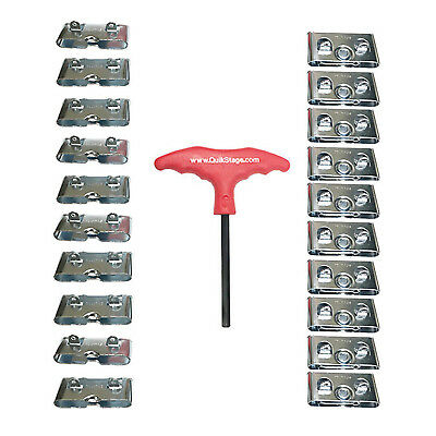 10 Pairs of Southco Male & Female Roto Lock Butt Joint Receptacles. T-Handle