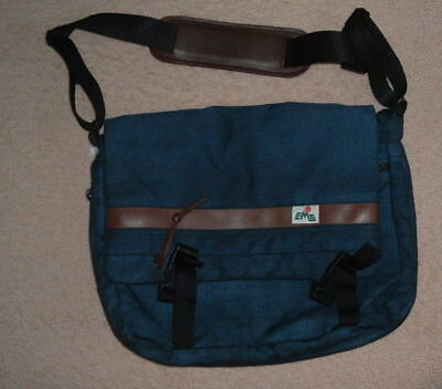 Vintage Eastern Mountain Sports Bag Rucksack, Duffle Shoulder Bag