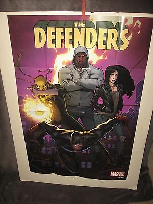 """THE DEFENDERS"" -new- '17 MARVEL FULL-SIZE  POSTER ""IRON FIST"" -NEW SERIES!"