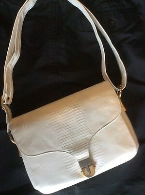 Vintage Robert Bastien White Crossbody handbag