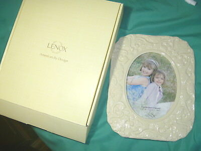 Lenox Georgian Pattern Picture Frame China Large Size Frame 8 By 10