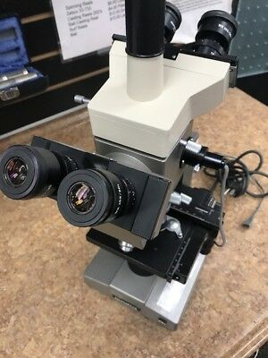 Olympus DO 1.25X Microscope with Dual Observation Attachment