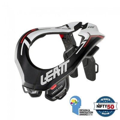 New 2019 Leatt GPX 3.5 Neck Brace Black Motocross Enduro