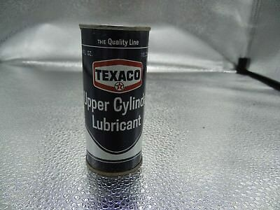 Texaco Upper Cylinder Lubricant Vintage Can Full Advertising