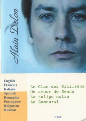 Alain Delon. 5 movies Collection. 8 Languages. Voice – French, Italian, Russian