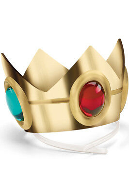 Brand New Super Mario Brothers Princess Peach Crown Accessory