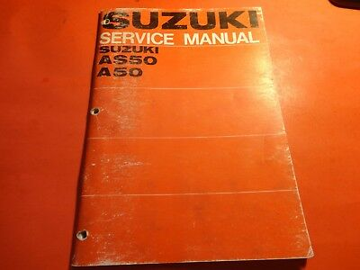suzuki as50 a50 service manual 1968 in good condition 8 99 rh picclick co uk