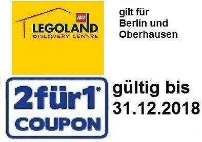 gutschein 2 f r 1 coupon bis legoland sealife madame tussauds eur 1 00. Black Bedroom Furniture Sets. Home Design Ideas