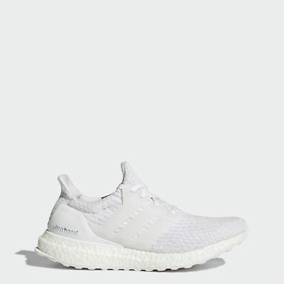 3f32dbb4ba6a88 Adidas Originals Women s Ultra Boost 3.0 in White Crystal White BA7686