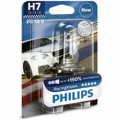 Philips H7 Racing Vision Halogen - Scheinwerferlampen Lampe SINGLE