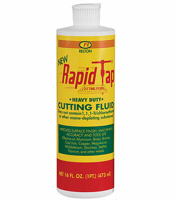(lot of 4) RELTON PNT-NRT Rapid Tap Cutting and Drilling Fluid, 16 oz. bottles