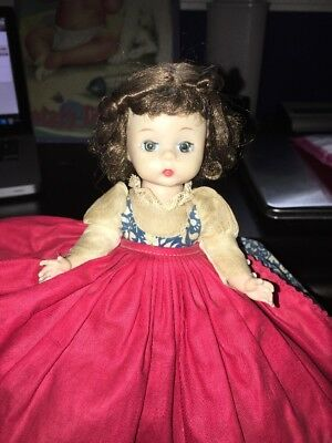 "Vintage 8"" Madame Alexander Doll Kins JO Bent Knee Sleepy Eyes Little Women rare"