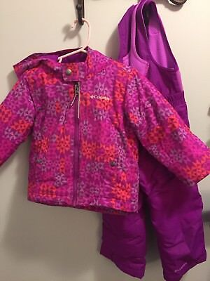 3t Columbia jacket and Snow pants