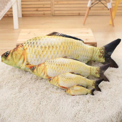 Simulation Carp Fish Plush Pillow Creative Plush Toys Staffed Soft Gift Toy
