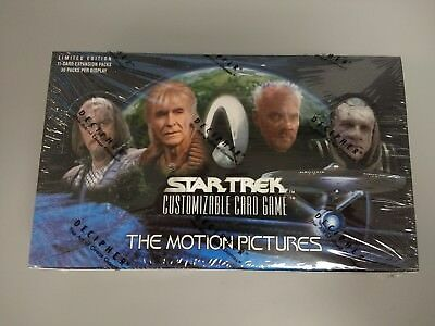 NEW Star Trek CCG THE MOTION PICTURES Booster Box - Factory Sealed!  Decipher 1E