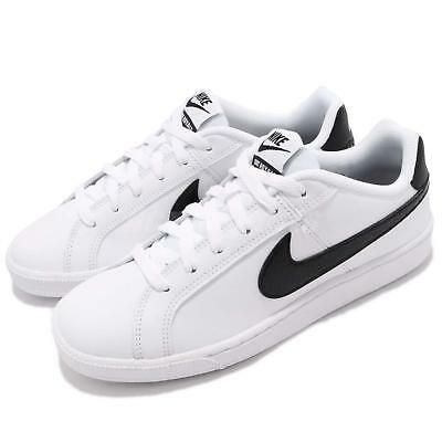 b5b714035 Wmns Nike Court Royale Low White Black Women Shoes Sneakers 749867-111