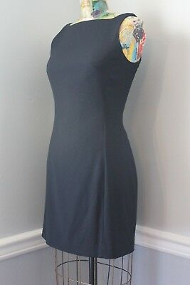 7541b7a4 Nicole Miller Vintage Mini Dress Black Little Black Dress LBD Sleeveless  size 2