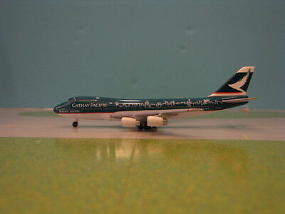 """Herpa Wings Cathay Pacific """"spirit Of Hong Kong"""" 747-200 1:500 Scale Diecast"""
