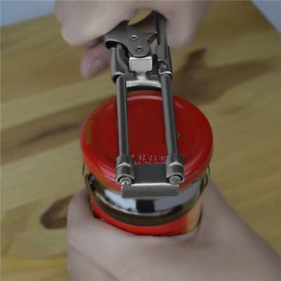 Stainless Steel Adjustable Can Bottle Jar Lid Openers Manual Home Gadgets H
