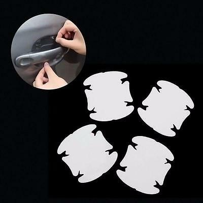 Good 4X Universal Invisible Car Door Handle Scratches Protective Protector Films