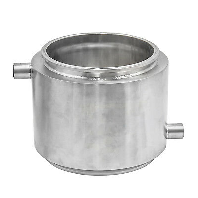"HFS(R) 10"" X 10"" Stainless Sanitary Jacketed Spool Tri-Clamp Ferrule Flange"