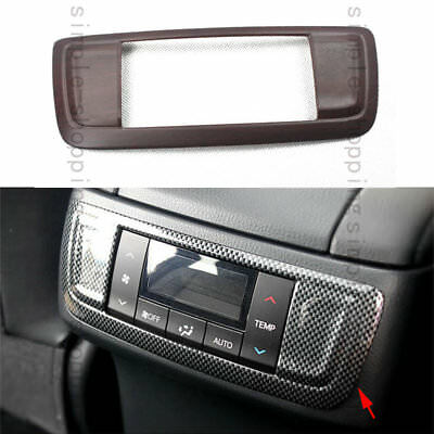 Fit For Toyota Highlander 2014 2015 Rear Air Conditioner Outlet Panel Cover Trim