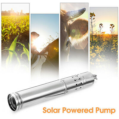 4m³/H 720W Solar Powered Water Pump Farm & Ranch Submersible Bore Hole Deep Well