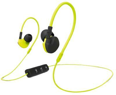 Earphones Bluetooth Clip-On Blk/Yell - 177095