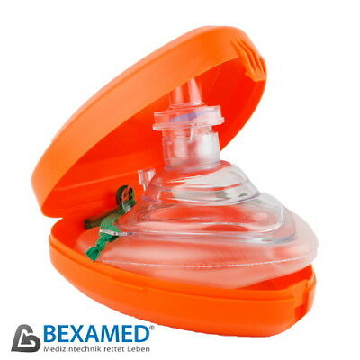Marken Proact Medical Beatmungsmaske Taschenbeatmungsmaske Pocket Maske orange