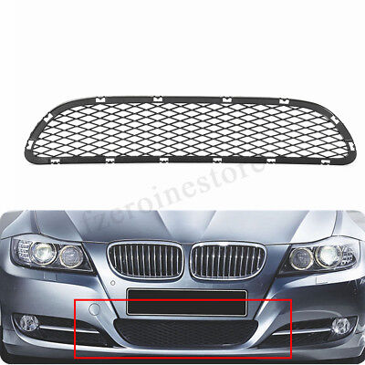 For BMW 3 E90 E91 325i 328i 335i Front Centre Bumper Grille Trim Mesh 09-12 2011