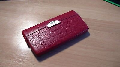 Psion Revo PDA one of a kind Red splash effect case