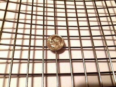 """Quality Stainless Steel Mesh - 304 #2 .063 Stainless Steel Welded Wire 12"""" x 12"""""""