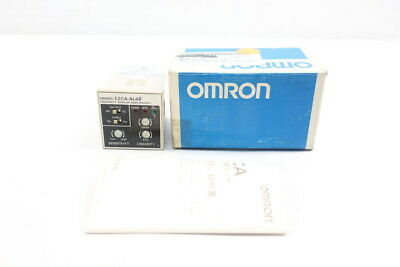 New Omron E2Ca-Al4F Unit Amplifier 12-24V-Dc D604496