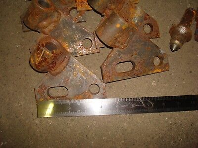 Lot Of 23 Teeth Holders And Lot Of 12 Teeth Trencher Vermeer