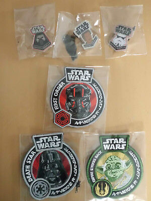 Funko POP! Star Wars Smugglers Bounty Patch und Pin Set RAR!!!