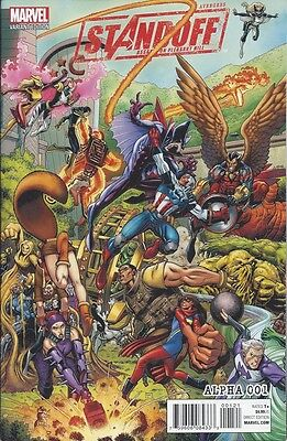 Avengers Standoff: Assault On Pleasant Hill Alpha # 001 Connecting A Variant NM