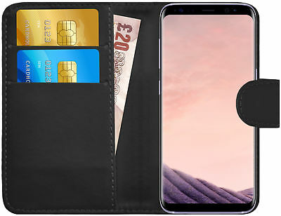 G-Shield® Luxury Leather Flip Wallet Slim Case Cover For Samsung Galaxy S8 Plus