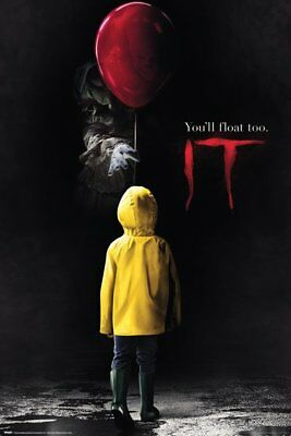 It Georgie Pennywise The Clown Stephen King 91.5X61Cm  Poster New Official Merch