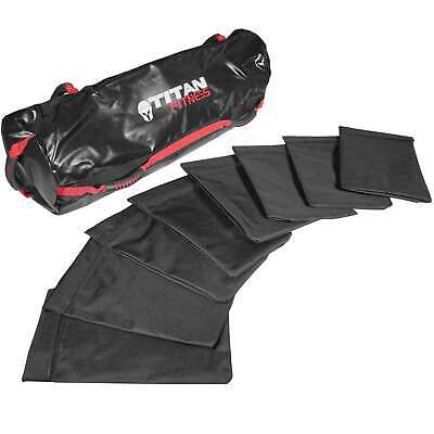 Titan Fitness 40-100 lb Heavy Duty Workout Weight Sandbag Exercise Training Bag